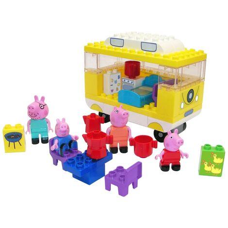 BIG Set de furgoneta camper Bloxx Peppa Pig 54 piezas - Multicolor