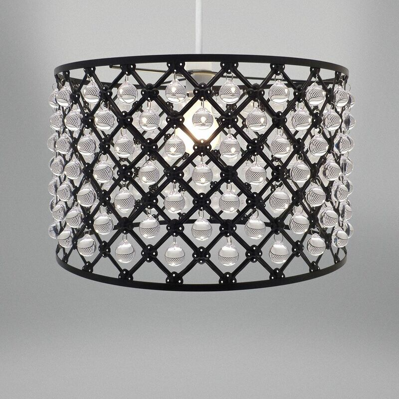 Image of Beamfeature - Bijou Ceiling Pendant Light shade Fitting Decoration Metal Black