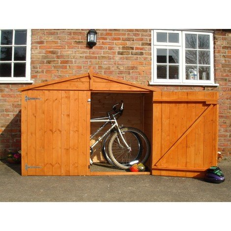 Bike Store With Apex Roof