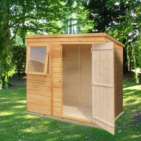 Bike Store With Pent Roof