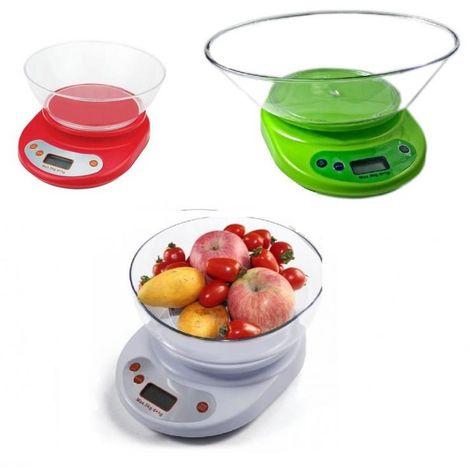 Bilancia Da Cucina Digitale Elettronica Precisione Pesa 1gr A 5kg Tara Bilancino Jl 91601