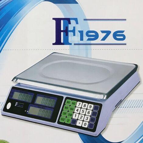 Bilancia Elettronica Digitale Professionale In Acciaio Inox Da 5 Gr A Max 40 Kg