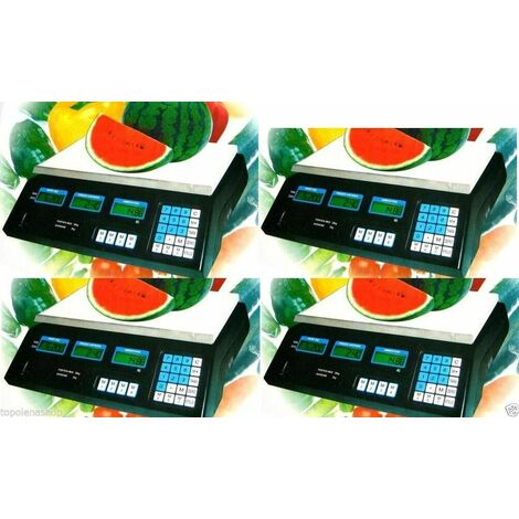 Bilancia Professionale 40 Kg Elettronica Digitale Nuova Per Alimenti