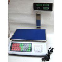 Bilancia Professionale Da Banco Digitale Max 50Kg 5 Gr Con Display Con Scontrino