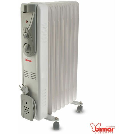 Bimar - termosifone radiatore elettrico ad olio 9 elementi 2000w regolabile s729