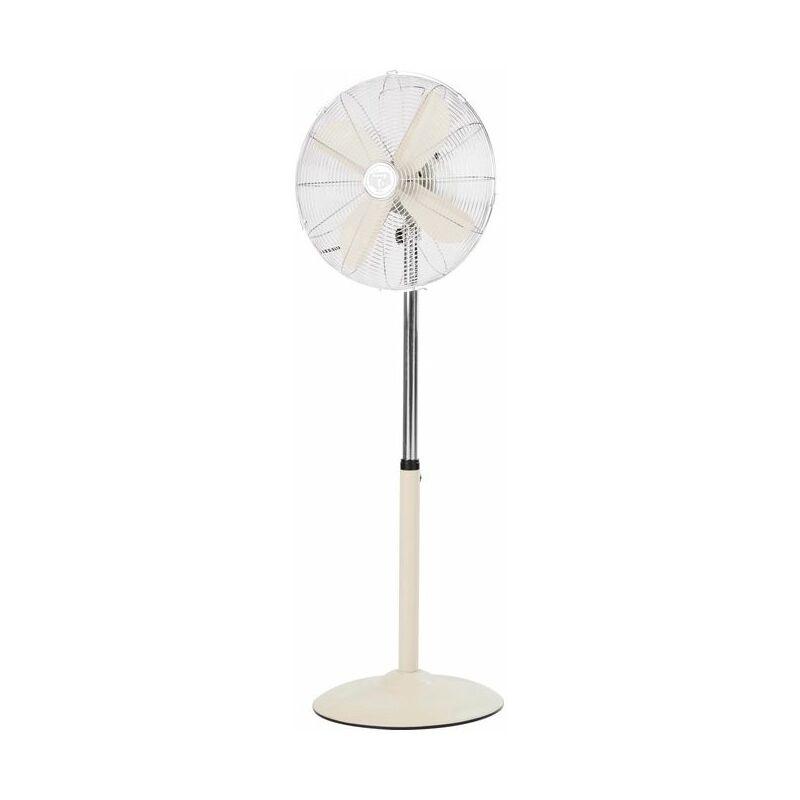 Bimar Ventilatore Domestico con Pale 50W Acciaio Inossidabile/Bianco