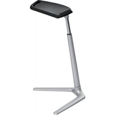 bimos Assis-debout confort - hauteur réglable de 620 à 850 mm - coloris assise noir - Coloris: noir