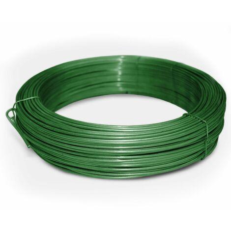 Bindedraht / Spanndraht | Verzinkt, anthrazit oder grün | 3,1 mm Stärke