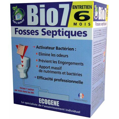 Bio 7 entretien fosses 6 sachets dose - 480 g