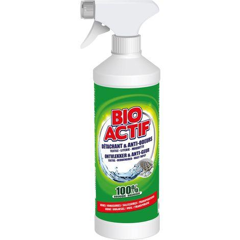 Bio Actif Détachant et Anti-odeurs textiles 500ml