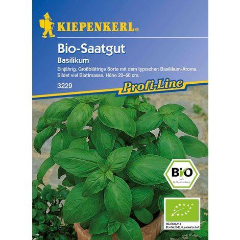 BIO Basilikum Genoveser Bio-Saatgut