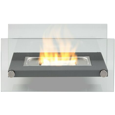 Bio Ethanol Fireplace Tabletop Firebox Burner Indoor Outdoor Heater
