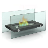Bio-Ethanol Table Fireplace for Indoor or Outdoor use