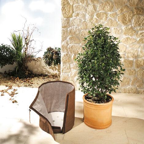 Bio Green Housse d'hivernage pour pot de plantes - KS 50 - taille L - 50 cm x diamètre 45 cm