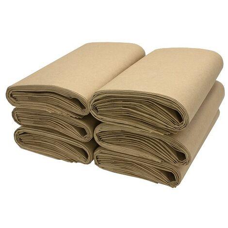 Bio Kompostbeutel 11954, 10 L, 60 Stück, Kraftpapier, braun