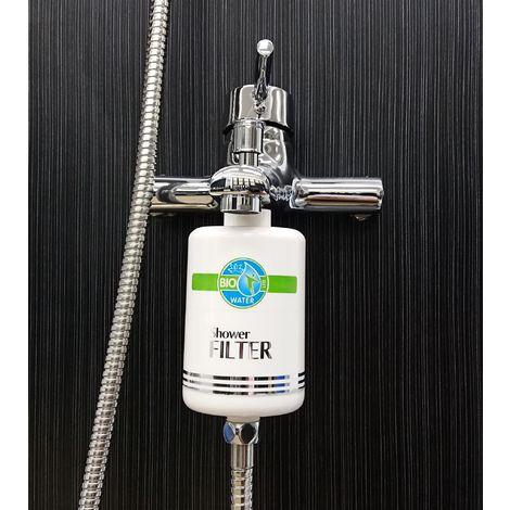Bio Water Duschfilter Wasserfilter Wasserhahn mit Hahnschalter Wasser Filtersystem Leitungswasser
