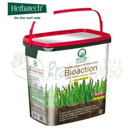 Bioaction - 7 Kg d'engrais naturel pour pelouse et potager