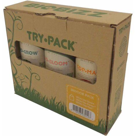 Biobizz Try · Pack - Pack intérieur d'engrais organiques 3x250ml