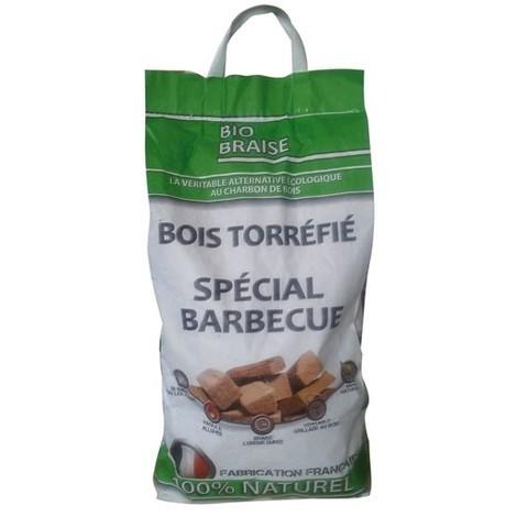BIOBRAISE - Bois torréfié spécial barbecue - 5Kg