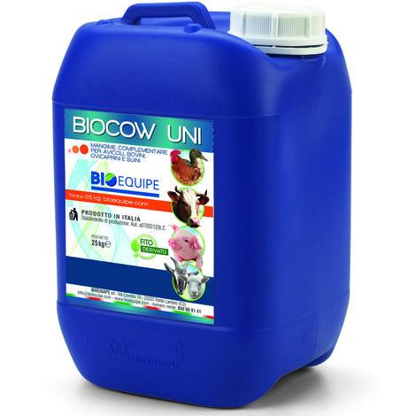 Biocow Uni coadiuvante abbassamento cellule somatiche nel latte per bovine 25 kg