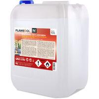 Bioéthanol à 100% dénaturé 1 x 10 L