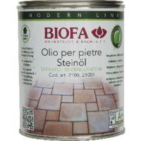 BIOFA 2100 Olio per pietre incolore a solvente naturale