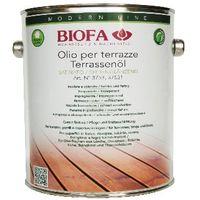 BIOFA 3753 Olio naturale per terrazze in legno