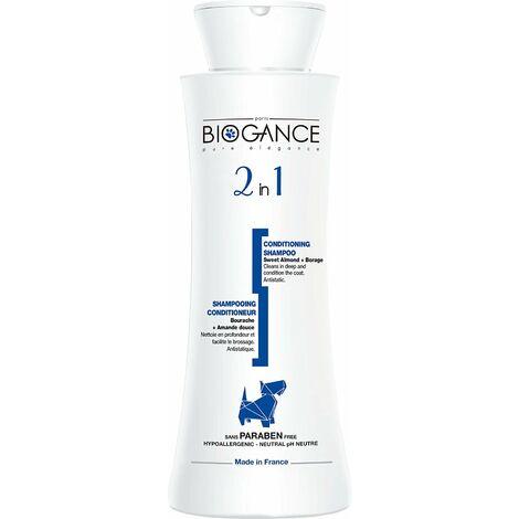 Biogance Shampooing 2 en 1 pour Chien 250 ml