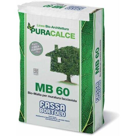 Biomalta bianca per muratura facciavista 25Kg MB60 Fassa