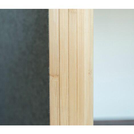 Biombo bambú 200 oscuro x 250 cm