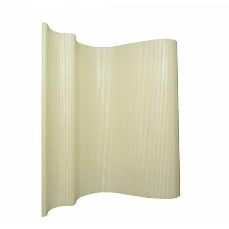 Biombo bambú blanco 200 x 250 cm