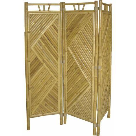 Biombo bambú de 3 paneles