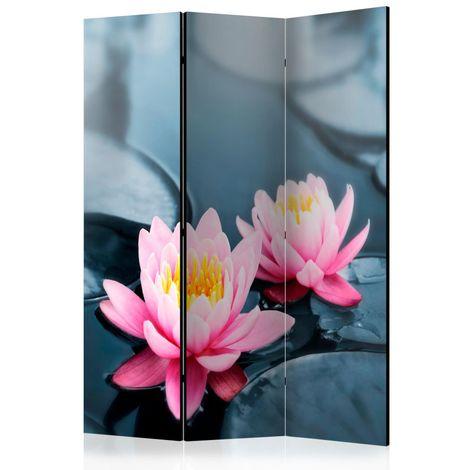 Biombo Lotus blossoms Room Dividers cm 135x172 Artgeist A1-PARAVENTtc0876