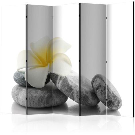 Biombo White Lotus II Room Dividers cm 225x172 Artgeist A1-PARAVENT992