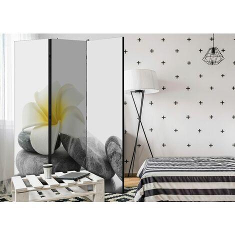 Biombo White Lotus Room Dividers cm 135x172 Artgeist A1-PARAVENT991