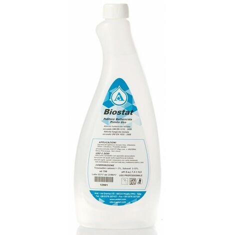 Biostat Pulitore Battericida Pronto Uso per Disinfezione di Superfici Alimentari Made in Italy 750ml