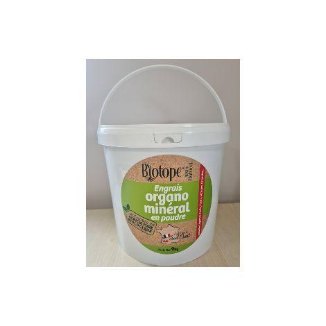 BIOTOPE Engrais BIO organo-mineral SEAU 9kgs