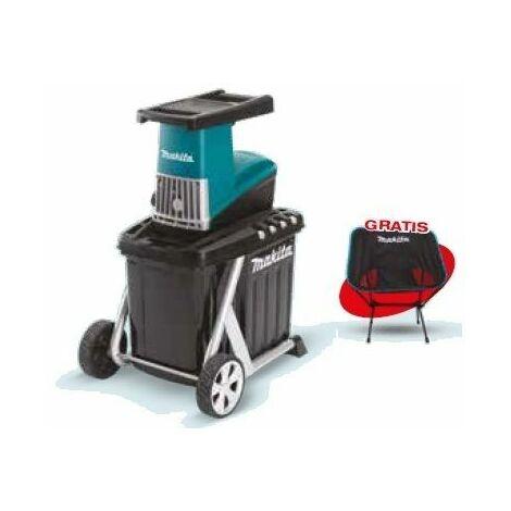 Biotrituradora eléctrica UD2500 + Silla plegable MAKITA PRK00346