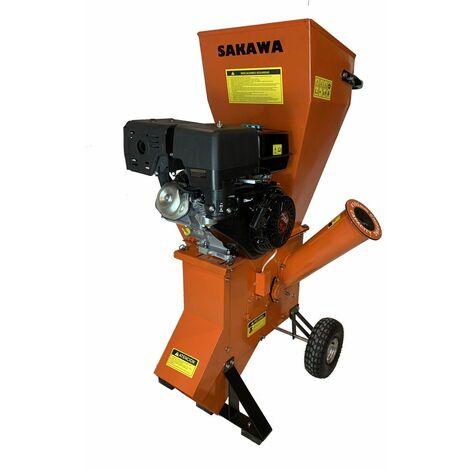 Biotrituradora SAKAWA BS1501 motor 15CV