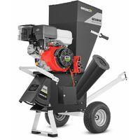 Biotrituratore 420cc motore a benzina 18hp avviamento elettrico -GREENCUT
