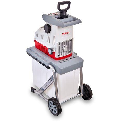 Biotrituratore cippatore trituratore trinciatutto giardino elettrico 2500w 50lt