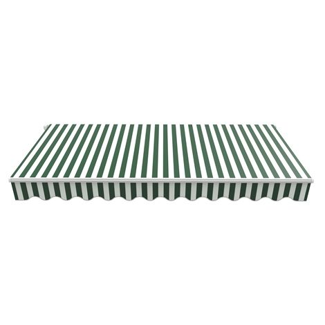 BIRCHTREE Awning Fabric Top Cover 3.5 x 2.5m AC04 Green & White