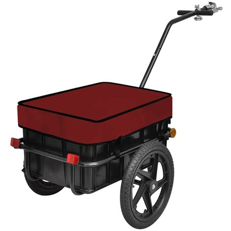 """main image of """"BIRCHTREE Cargo Trailer 70L FH-CT01 Red"""""""