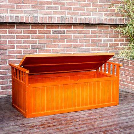 BIRCHTREE Garden Bench Storage Box BT-WGB04 Natural