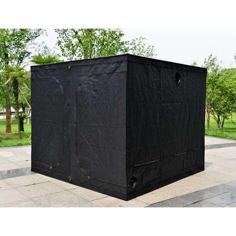 "main image of ""BIRCHTREE Hydroponic Grow Tent Green Room 300cm x 300cm x 200cm"""