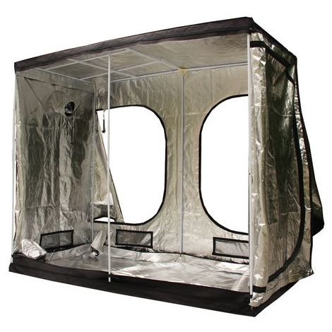 BIRCHTREE New Design Hydroponic Grow Tent Green Room 240cm x 120cm x 200cm