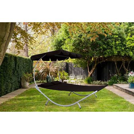 BIRCHTREE Sun Day Bed Double SDB08 Black