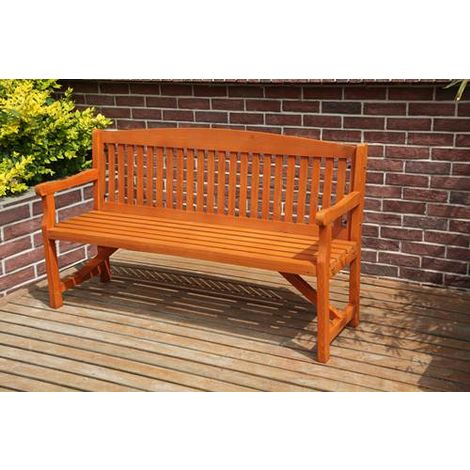 BIRCHTREE Wooden Garden Bench WGB02 Natural