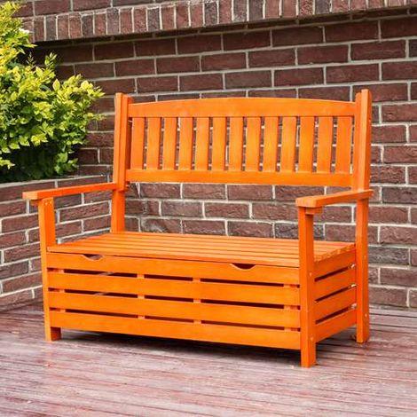 BIRCHTREE Wooden Garden Bench WGB03 Natural