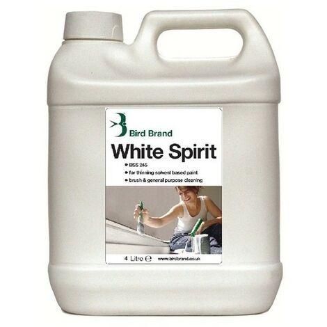 "main image of ""Bird Brand 0114 White Spirit 4 Litre"""